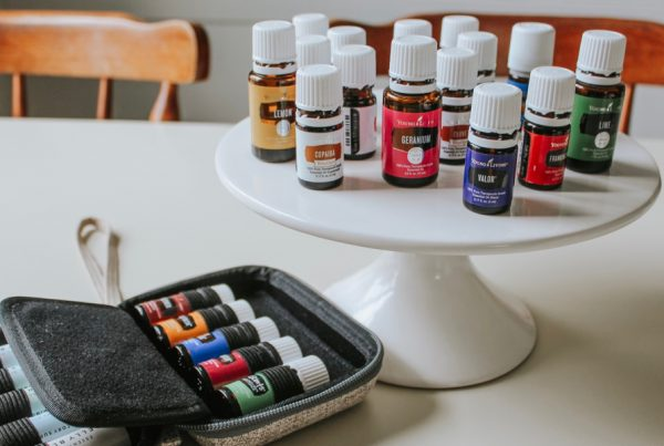 different types of essential oil storage options